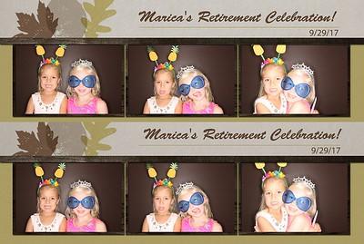 Marcia's Retirement Party