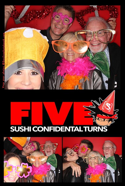 Sushi Confidential 5 year Anniversary 2017