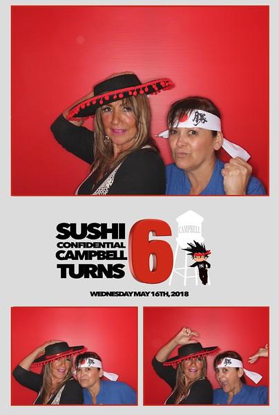 Sushi Confidential 6th Anniversary