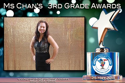 052518- Pedley's Miss Chan 3rd Grade Awards