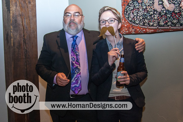 Ben + Randi Wedding photo booth