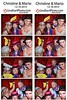 Christine & Mario's Photo Booth : At the SLS Hotel, Miami Beach