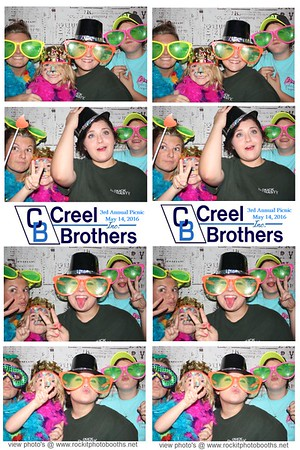 Creel Brothers 3rd Annual Picnic  5.14.2016
