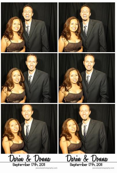 Darin & Donna Photo Booth