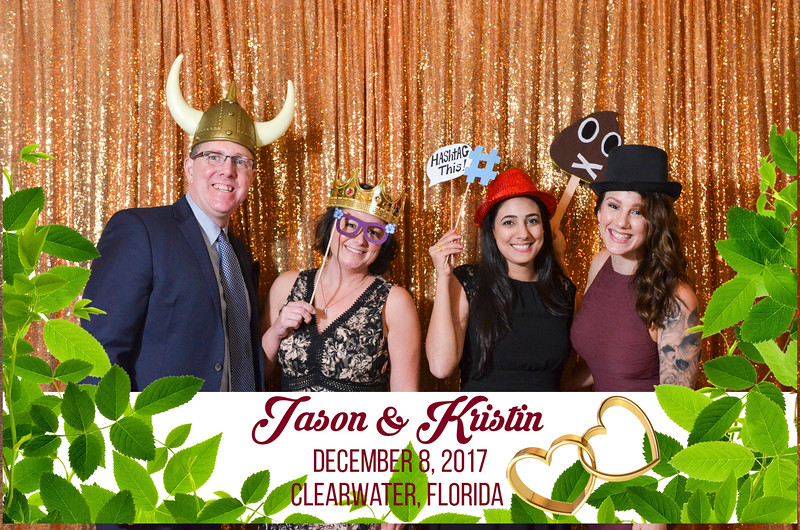 Thank you for visiting our photo booth at Jason and Kristin's special day.  #eventheroesoftampabay