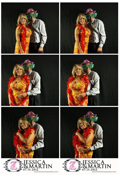Jessica & Martin Wedding Photo Booth