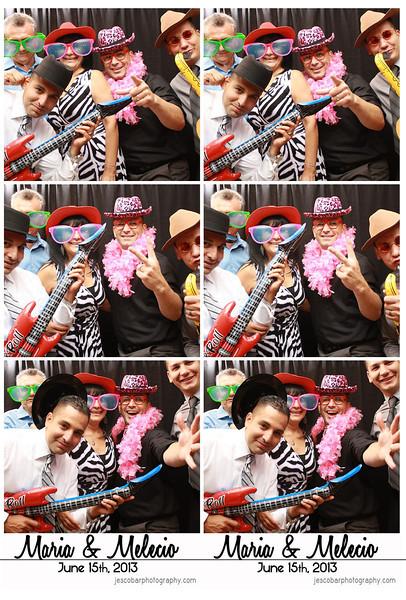 Maria & Mel Photo Booth