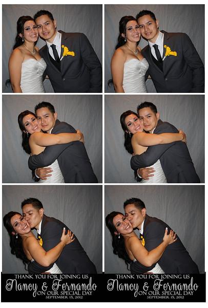 Nancy & Fernando Photo Booth