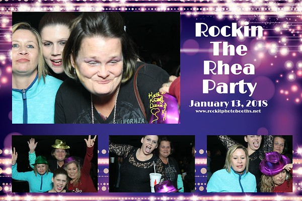 Rocking The Rhea Party 2018