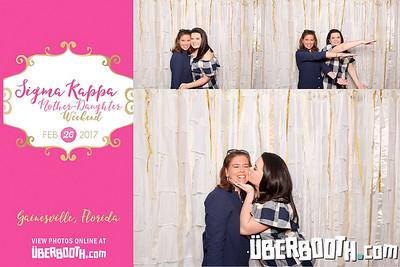 Sigma Kappa Mother-Daughter Weekend 2017
