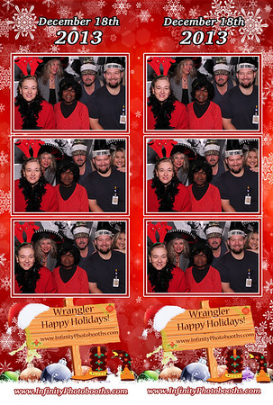 Wrangler's Holiday Party - (photostrips)