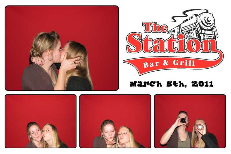 Photo Booth Rental Exhibition at The Station in Monticello