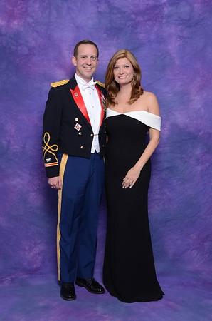 2018 Gulf Coast Military Mardi Gras Ball Portraits