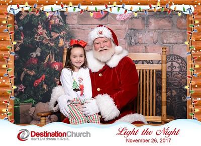 Destination Church - Light the Night 2017