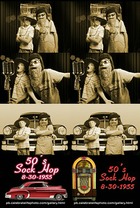Sepia choice, 2x6 Photo Strip, Enclosed 7' x 7' booth Green Screen