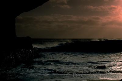 Bonny Doon Beach Seascape Sunset 2 (1993)