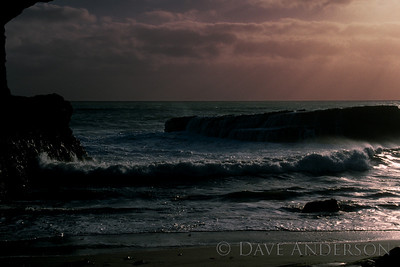Bonny Doon Beach Seascape Sunset 1 (1993)