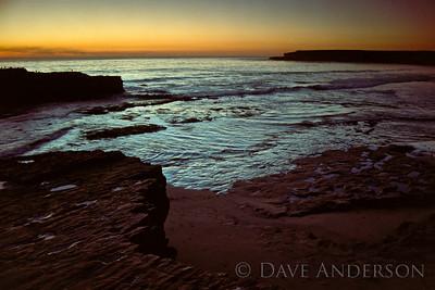 Bonny Doon Beach Seascape Sunset 8 (1993)