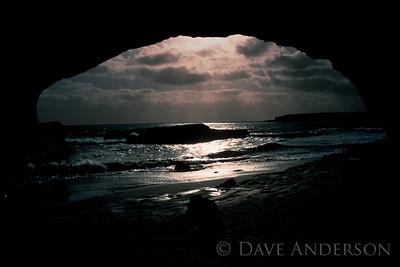 Bonny Doon Beach Seascape Sunset 5 (1993)