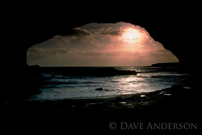 Bonny Doon Beach Seascape Sunset 3 (1993)