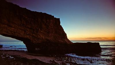 Bonny Doon Beach Seascape Sunset 7 (1993)
