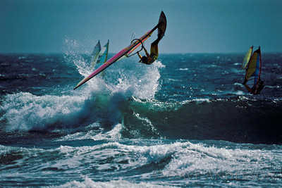Ano Nuevo Beach Windsurfer 1 of 3 (1993)
