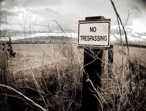 361/365 No Trespassing