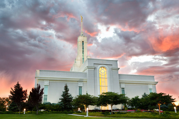 199/365 Mt Timpanogos Temple Sunset