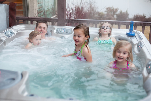 65/365 1 Guy, 4 Girls and a Hot Tub