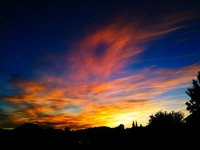 262/365 Sunset in Utah Valley