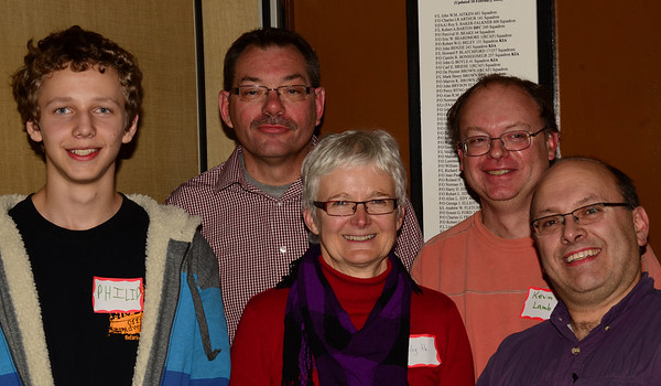 The Waterloo Wellington Canoe Club (WWCC) Annual Photo Contest 2012 Winners From left to Right: Philip Hafeman, Tom Harman, Judy Hodgson, Kevin Lamb, Jean Lefebvre