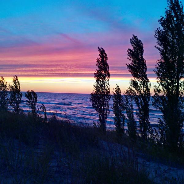 Lake Huron at the Pinery by Paul Kostiuk