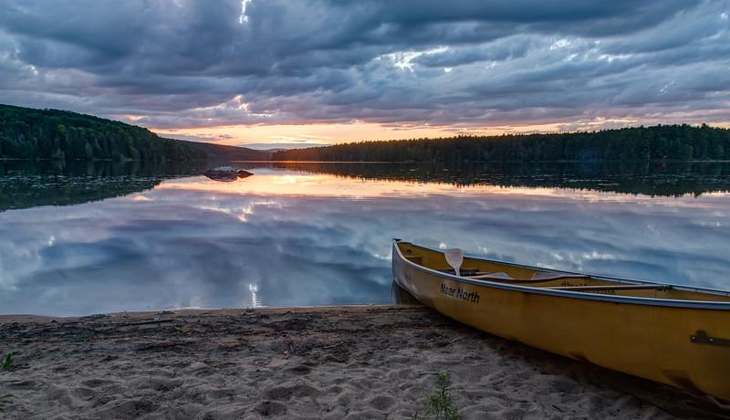 Stratton Lake campsite, en route to Barron Canyon by Jeff Dawkins