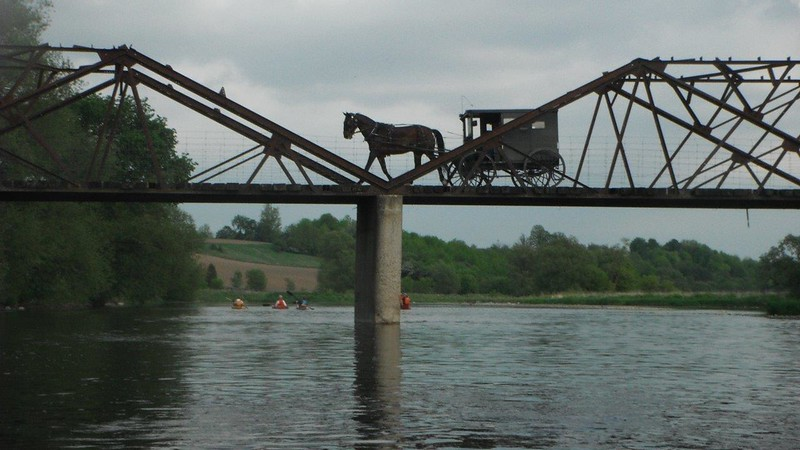 Kayaking, Horse & Buggy by Judi Thompson