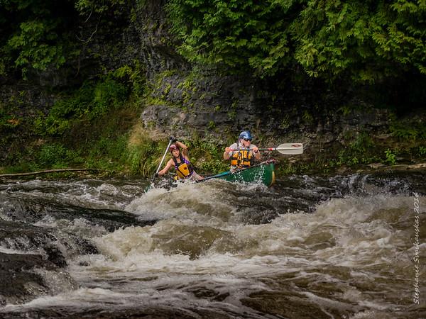 Running the Elora Chute - By Stephanie Svaikauskas