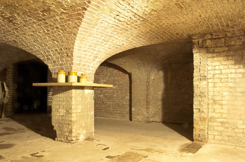 COPPED HALL CELLAR 2 by Colin Buck