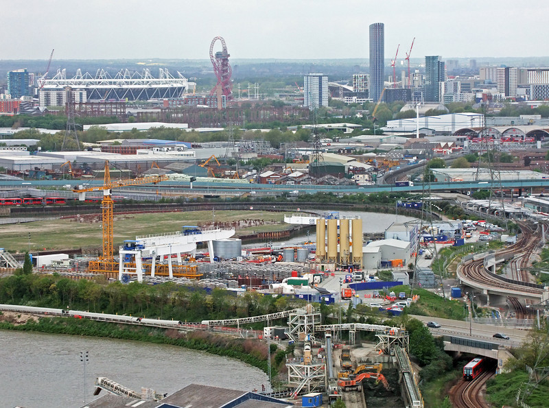 View Towards the Olympic Site by John Brooks