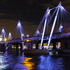 HUNGERFORD BRIDGE by Pat Brown