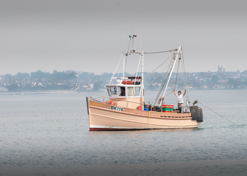 Fishing Boat by John Allen