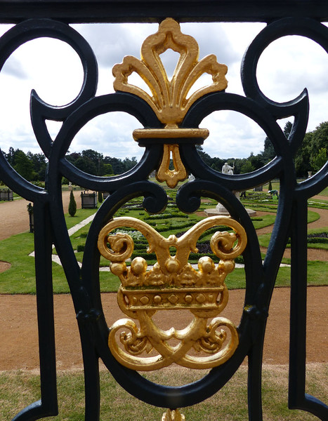 WREST PARK GATE by Pat Brown