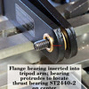The ST2440-2 thrust bearing is needed (along with the other thrust bearings in the assembly) to provide smooth tilt.