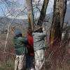 We bought Canon 10x30 IS binos May 2000, haven't found anything better. Here, we are birding with friends, March 2006, Wenatchee, Washington.