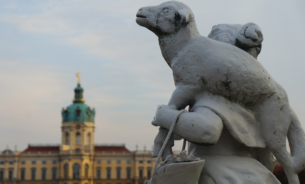 This was one of my favorite shots from visiting Charlottenburg Palace in Berlin, Germany.