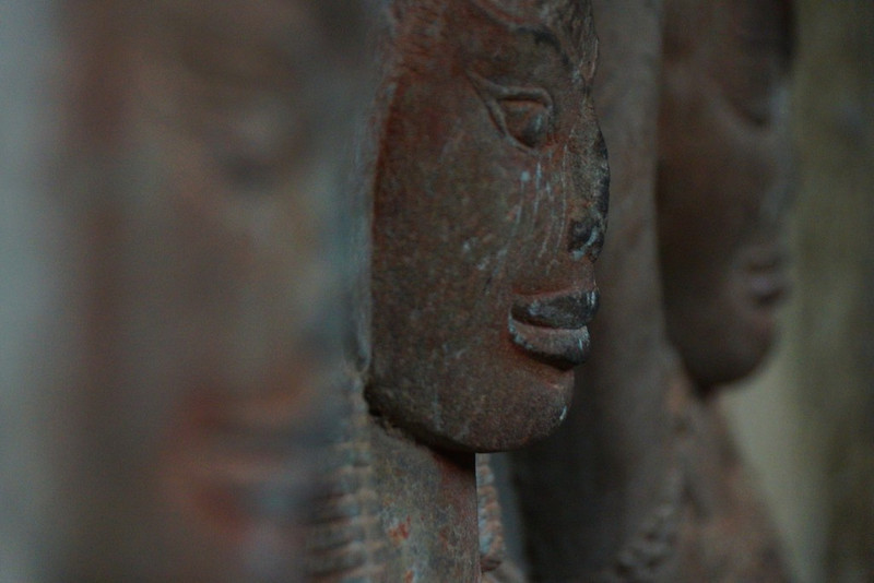 One of the many faces you'll see when visiting Angkor Wat.