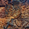 The intricate design and bas-relief carvings in Banteay Srei really set it apart from the other temples of Angkor.