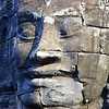 Another shot of the faces of Bayon with shadows and highlights.