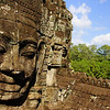 The stone cold smiles of Bayon are one of the most impressive temples I visited in all of Angkor.