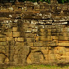One more shot of the Terrace of Elephants wall - Angkor Thom, Cambodia.