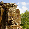 I once read that the faces of Bayon were meant to resemble the King.