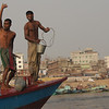 """There was dancing.  There was joy.  There was plenty of hamming it up for the camera from these three Bangladeshi men:<br /> <a href=""""http://nomadicsamuel.com/photo-essays/boat-buriganga-sadarghat-dhaka-bangladesh"""">http://nomadicsamuel.com/photo-essays/boat-buriganga-sadarghat-dhaka-bangladesh</a>"""